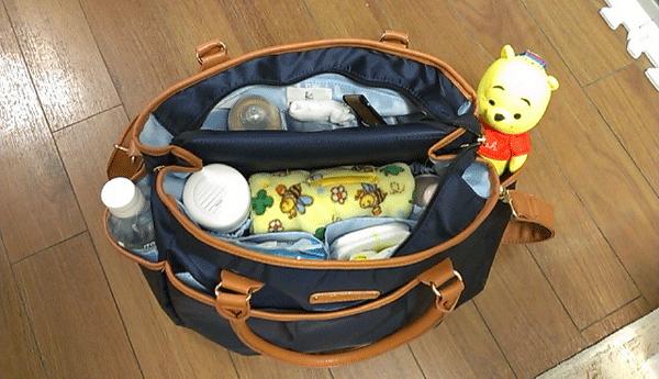 マザーズバッグの写真